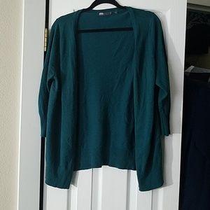 Modcloth MAK Charter School Cardigan Emerald